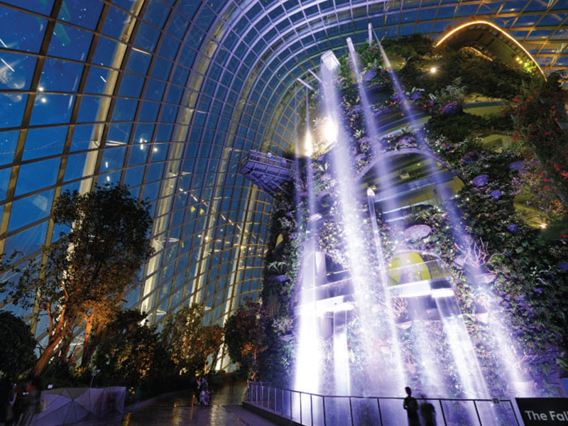 Twin Conservatories & Free Gardens by the Bay Transfer Shuttle