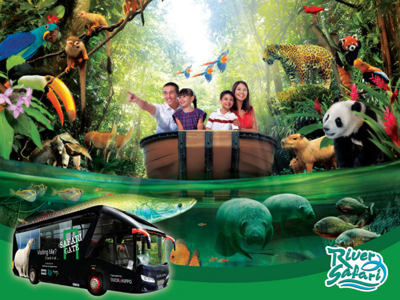 River Safari Free & Easy with 2-way transfer