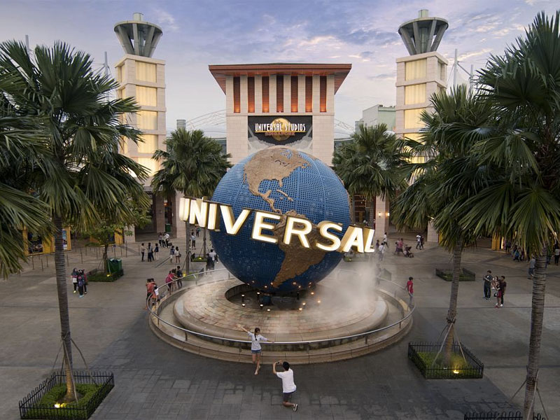 Universal Studios Singapore with 1-way transfer