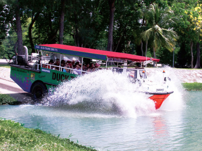 Submit a TripAdvisor review for Singapore DUCKtours