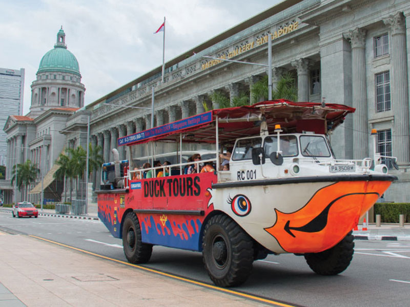 Singapore Duck Tours   Best Amphibious Attractions One Should Experience In  This City!