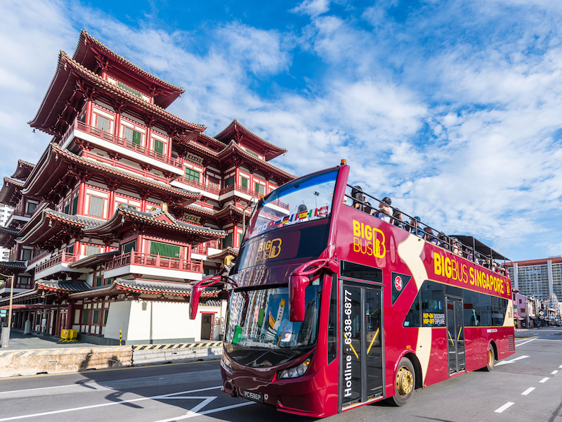 Big Bus Tours - Choice of 'City' or 'Heritage' Route
