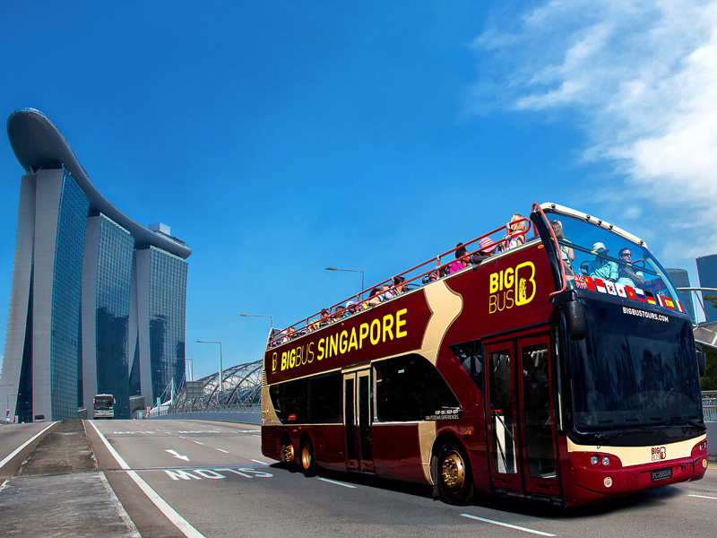 Big Bus Singapore Hop-on Hop-off
