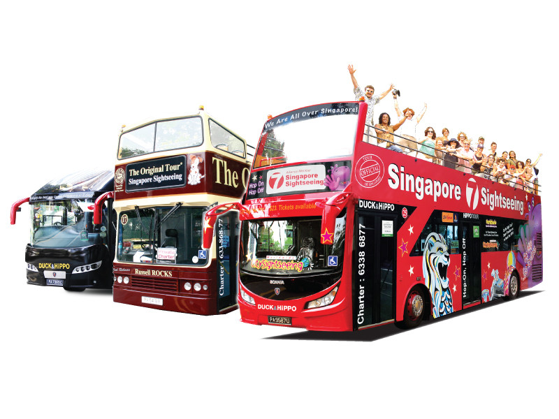 Singapore7 Hop-On Hop-Off Tour (7 Lines)