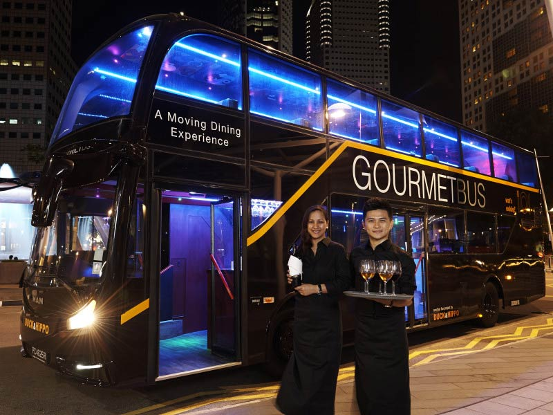 Submit a TripAdvisor review for Singapore GOURMETbus
